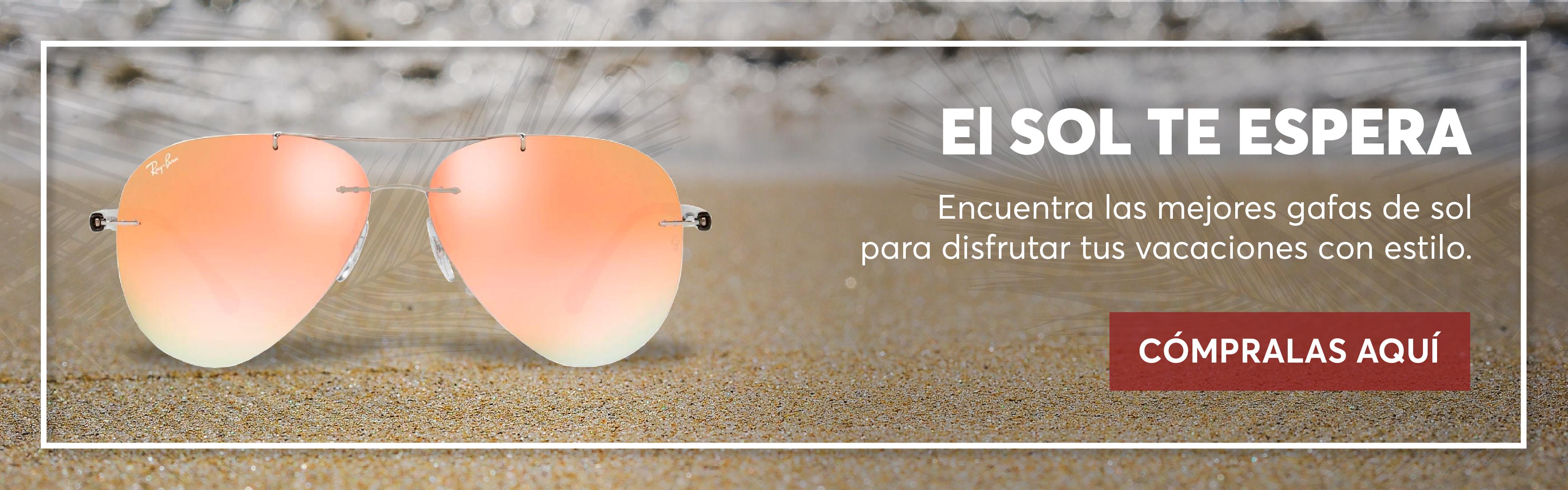 Encuentra las mejores gafas de sol para disfrutar tus vacaciones con estilo.