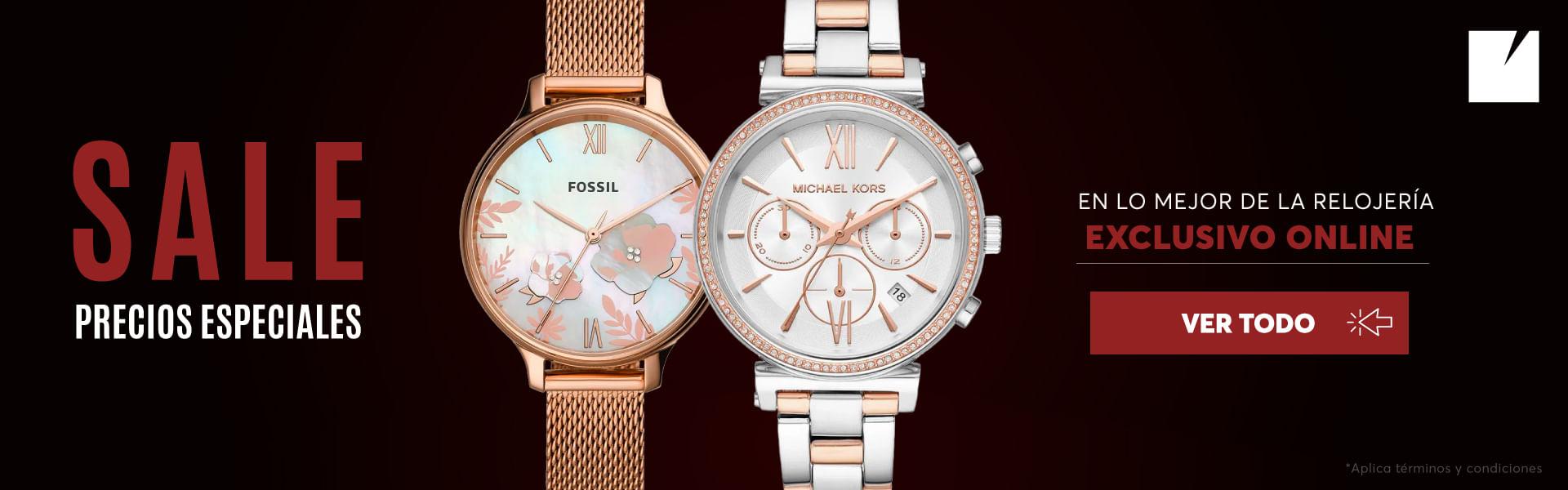 Sale - Precios especiales en relojes de las mejores marcas