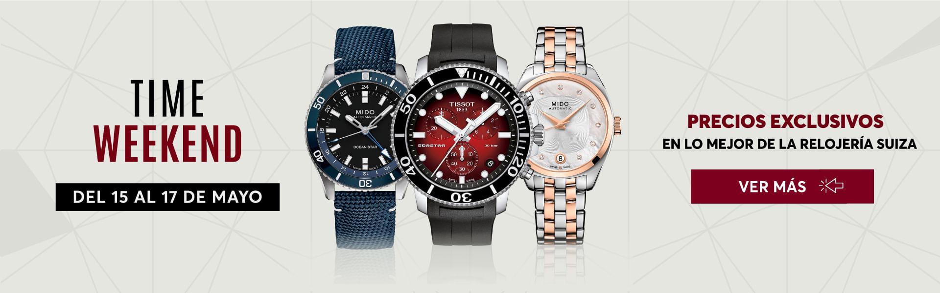 Time Weekend - Precios especiales en relojes de las mejores marcas