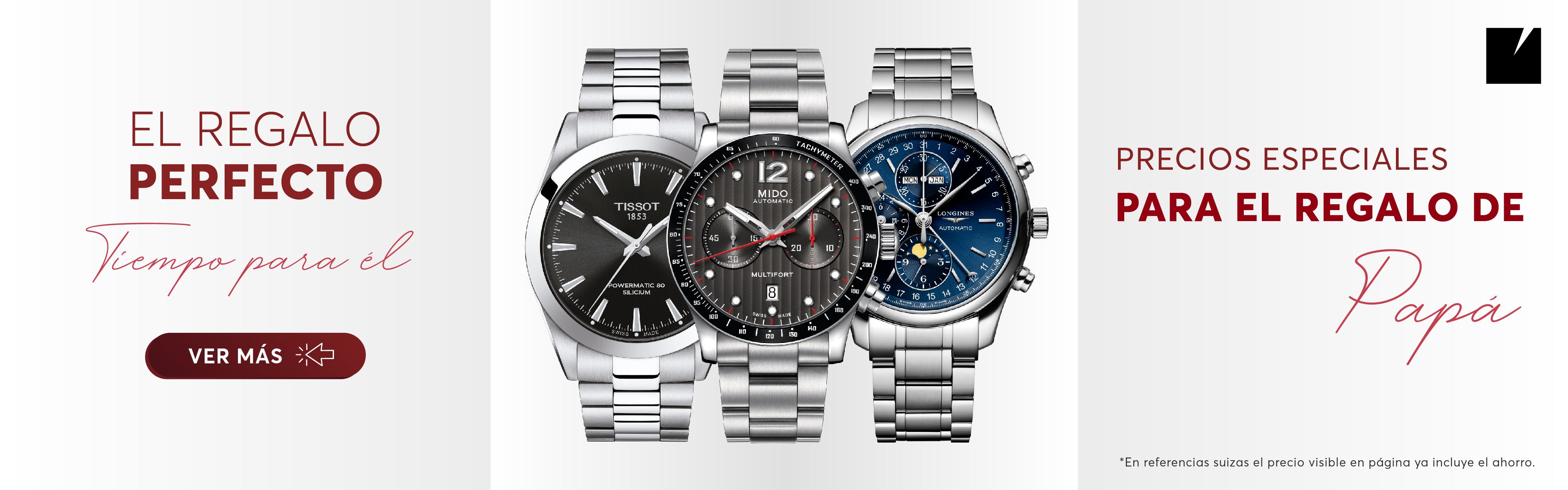 Tiempo para ellos - Precios especiales en relojes de las mejores marcas