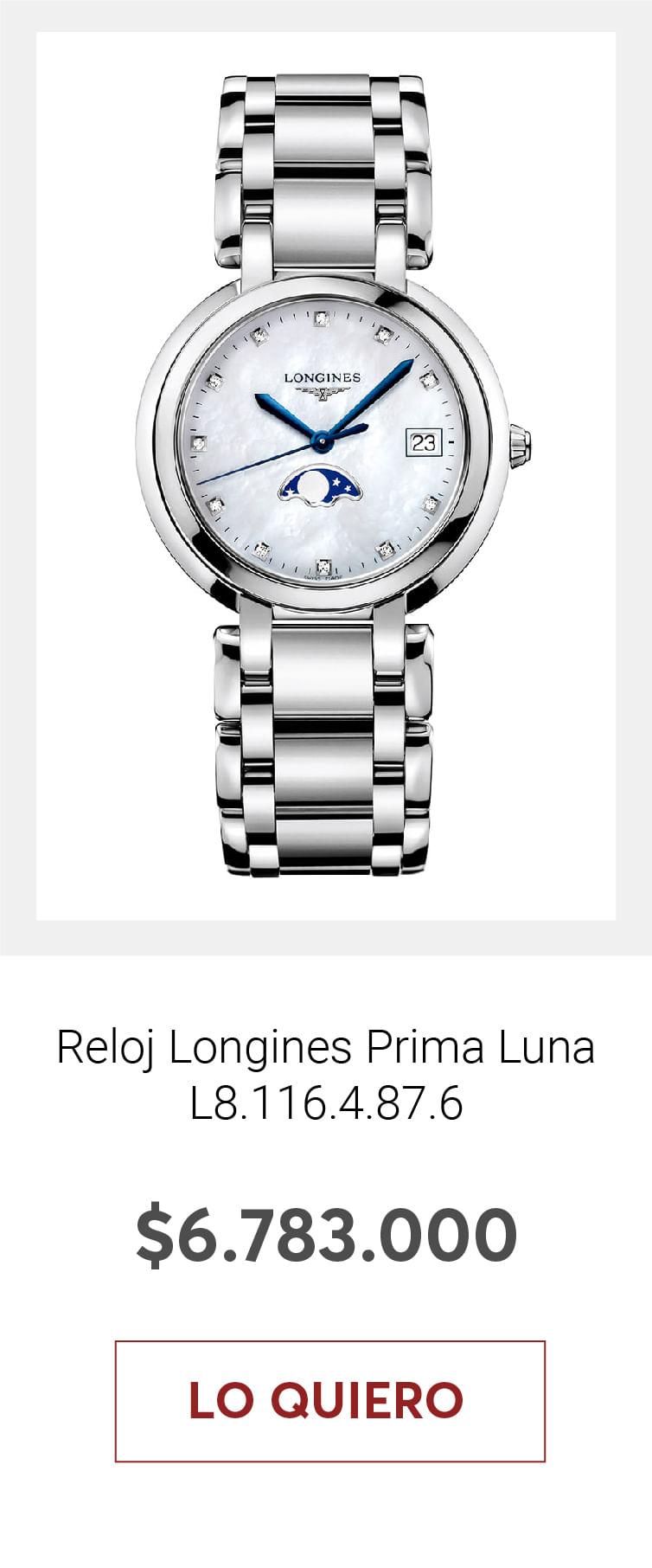 Reloj Longines Prima Luna L8.116.4.87.6