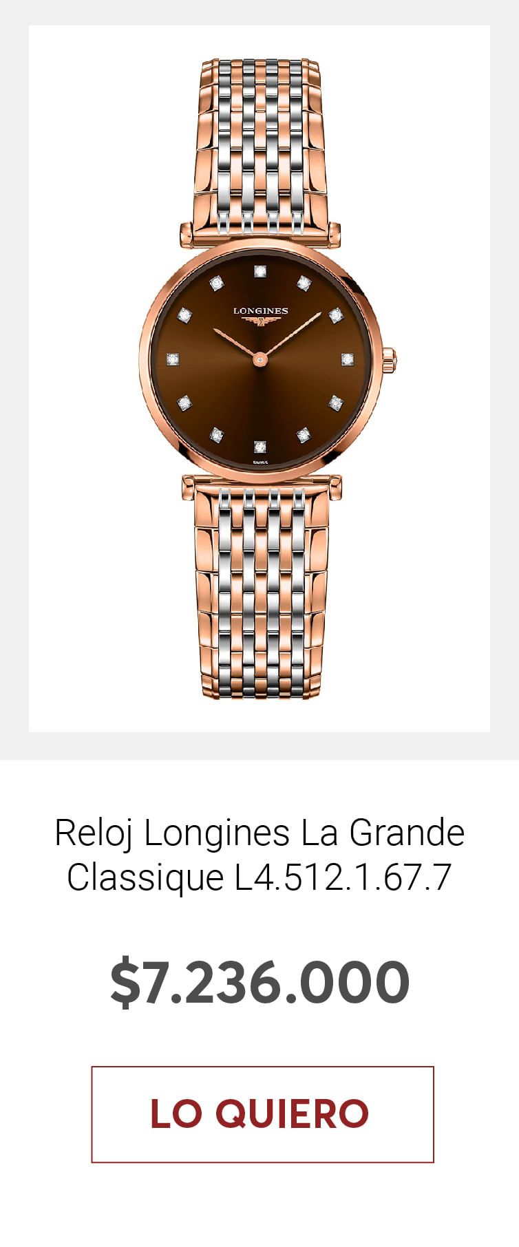 Reloj Longines La Grande Classique L4.512.1.67.7