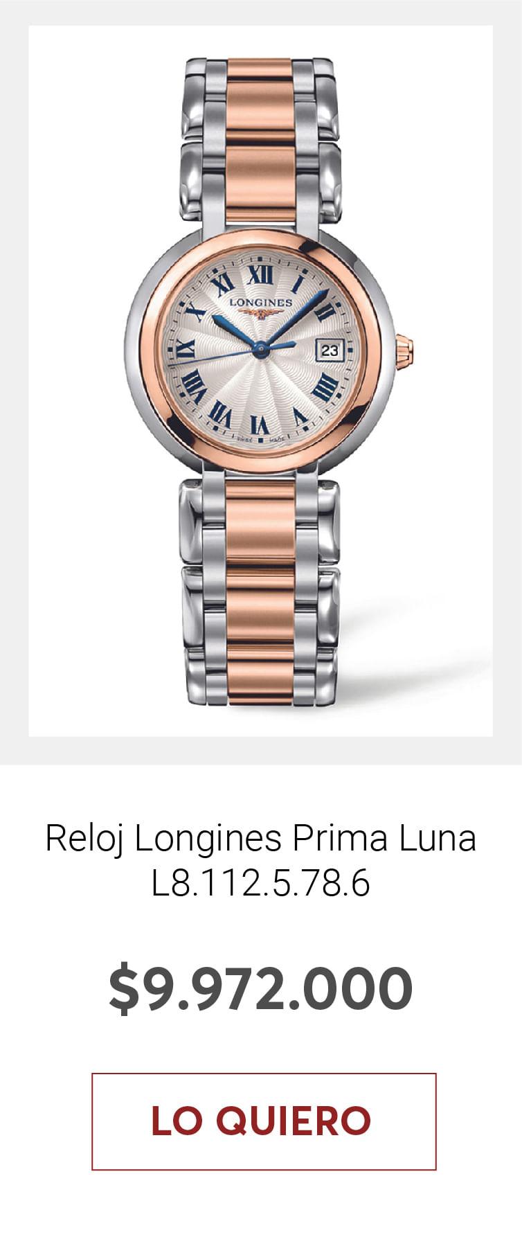 Reloj Longines Prima Luna L8.112.5.78.6